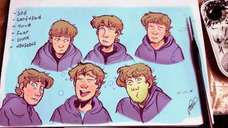 Lawrence expressions study by Danger-Jazz