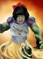 Princess Avengers: HULK by Christopher-Stoll