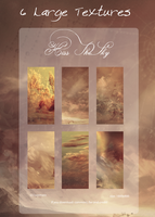 6 Large Textures: Kiss The Sky by lucemare