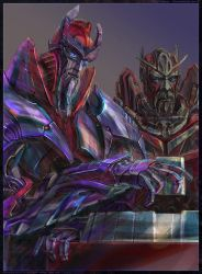 Alpha Trion, Sentinel and Space Bridge by darefi