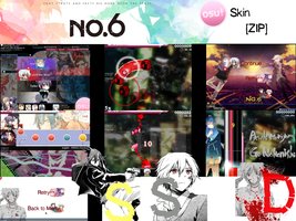 No. 6 Osu! Skin [ZIP] by Allen-WalkerDGrayMan