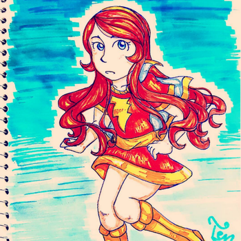 Mary Marvel by MyNameIsActuallyTen