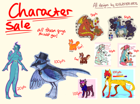 Unsold adopts for sale by FluFFYCAT-Adopts