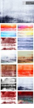 12 Free Watercolor Textures by symufa