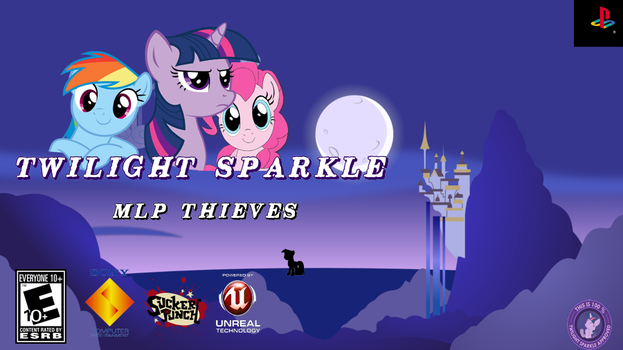 Twilight Sparkle, Mlp Thieves (parodia a sly 2) by eldestripador2000