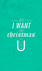 All I want for Christmas is by pk1st