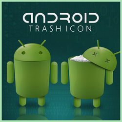 Android trash icon by D1m22