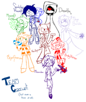 Team Corrupt (Sketch) by MetaT0shi