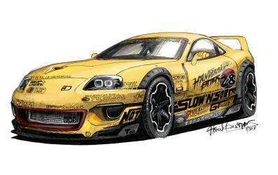 'Slow and Sober' Supra by HorcikDesigns