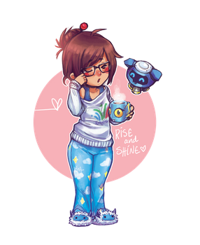 Rise and Shine Mei by DreamerWhit