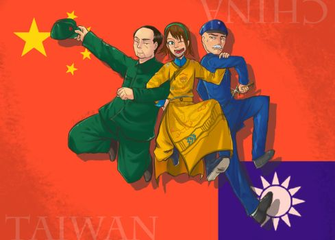 CHINA AND TIWAN by YinXiang