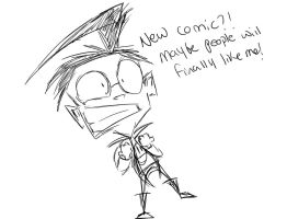 Have something by Invader--ZIM