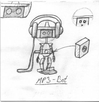 MP3-Bot sketch02 by steelegg