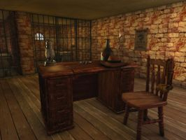 Jail Cell with Ambient by TheSorceressRaven