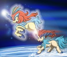 THE LEGEND OF KELDEO by Crysalia777