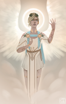 Winged Victory by SnowTheAnimator