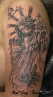 Angel Girl by Reddogtattoo