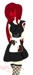 ||Stitched Maid|| Gift || by NightFoxGangsters