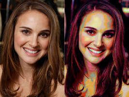 Natalie Portman Oilified by trandoductin