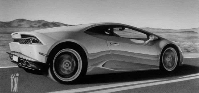 Lamborghini Huracan by toniart57