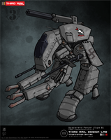 TRDL - Spazierend Panzer Type B by TRDLcomics