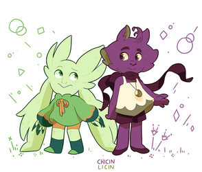 Pipin and Lumi by chicinlicin
