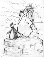 Penguin and Bear Concept by MJBivouac