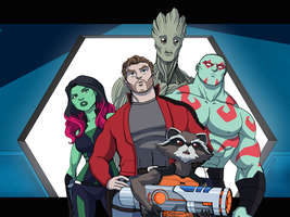 Guardians Of The Galaxy 4 by LucianoVecchio