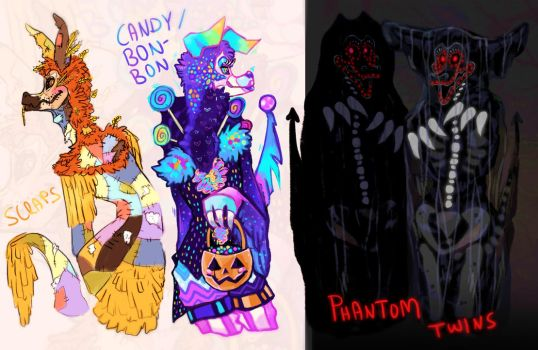 [CLOSED] ~ Halloween ANiMATRONiQUE Adopts SALE! by Witchin