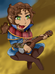 Simon The Bard by SummerChrysanthemum