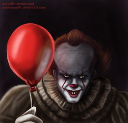 Pennywise - Halloween 2017 by Arabesque91