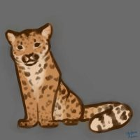 Amur Leopard Doodle by Shad0wstream