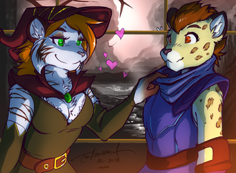 (Comm) Ash and Keilani: Love Spell by kiit0s