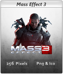 Mass Effect 3 - Icon by Crussong