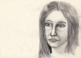 Portrait Drawing 010 (July 2011) by Pumais