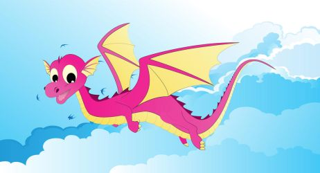 Flying Dragon by netpal