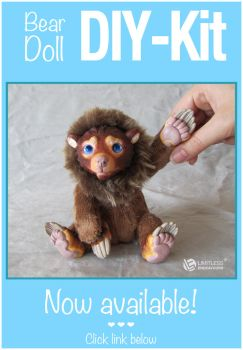 Bear Doll DIY-Kit SOLD OUT by LimitlessEndeavours