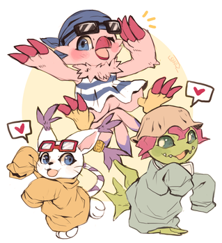 Digimon Tri! by suikuzu