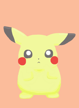Pikachu (Redraw) by drpepperswife