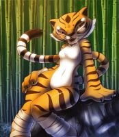 Tigress in nature by nancher