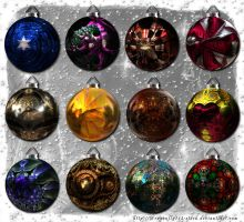 Christmas Balls Collection 2 by BFstock