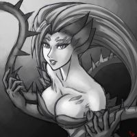 Zyra Sketch by ParSujera