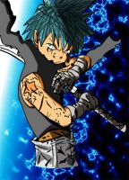 Black star color by tokibloo by DBztmk