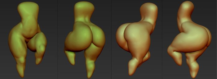 Zbrush ACCIDENT by chochi