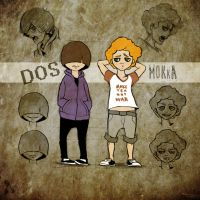 First Concept for [MOKKA and DOS] by MegyeriMano