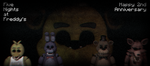 Five Nights at Freddys | 2nd Anniversary by GaboCOart