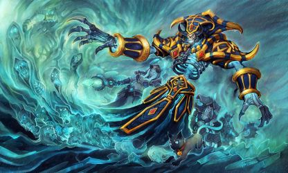 ailurophile  Kel'Thuzad  back-1 by liuhao726