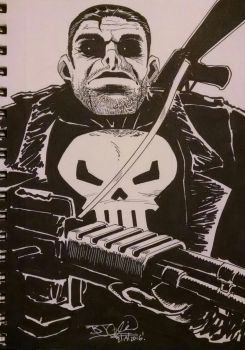 The Punisher by EpicBenjaminJ