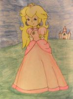 Princess of the Mushroom Kingdom by Lanm01