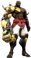 Doomfist by SucculentSoldier